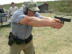 Running my Glock 21 hard at one of Henk Iverson&#039;s classes.  A rear frame rail broke off soon after the class.  the whole gun was replaced by Glock.  It only had 32,000 rounds through it.