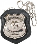 Neck chain badge