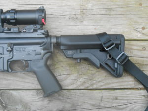 The Bravo SOPMOD on my precision AR-15
