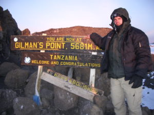 Despite the delays, the climb was a success...sunrise atop the highest mountain in Africa.