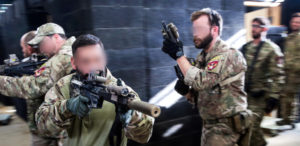 US Special Forces train during deployment