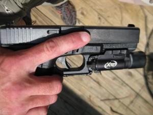Proper Trigger Finger Positioning