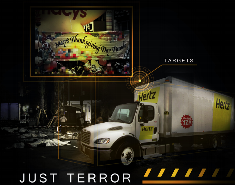Rumiyah inforgraphic about using vehicles in terrorist acts.