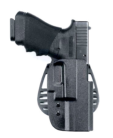 Uncle Mike's Kydex holster- Better than the Fobus, but still lacks good retention