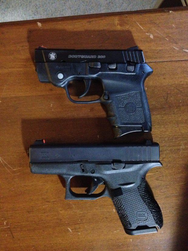 S&W Bodyguard vs. Glock 32