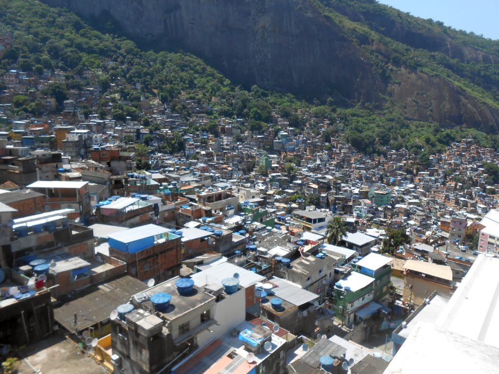 Rochina, Rio's largest favela with about 150K residents.